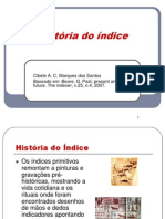 Historia Do Indice