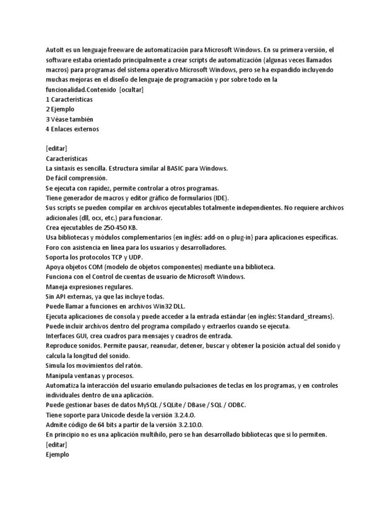 Único Ejemplos De Reanudar La Automatización Patrón - Colección De ...