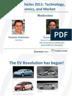 Prometheus Ev Report Webinar 20111122