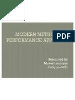 Modern Methods of Performance Appraisasl Ppt