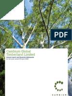Cambium Annual Report 2009