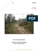 Sino-Forest Poyry Valuation Dec 2007 Final