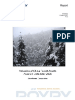 Sino-Forest Poyry Valuation Dec 2006 Final