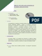 ESTUDIO DEL MYCOPLASMA HOMINIS