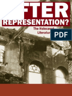 After Representation the Holocaust Literature and Culture
