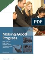 DCSF-Making Good Progress