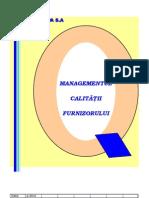 Manualul Calitatii Furnizorului MCF 02 Ed. a-2010