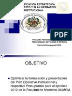 POI y PTO  2012