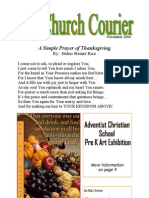 The Church Courier, November 2008