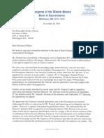 Senate Letter to Clinton Nov2011