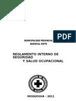 to de Seguridad y Salud Ocupacional Mpmn
