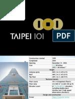 Taipei 101 slayt