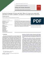 Multiculturalism in Teacher Education