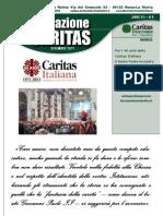 09. in-Formazione Caritas_2011.12_DICEMBRE - 40ennale Caritas