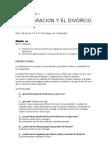 guia de estudio la separacion y el divorcio