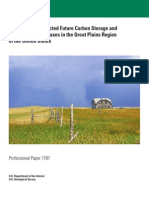 Baseline and Projected Future Carbon Storage and Greenhouse-Gas Fluxes in the Great Plains Region of the United States