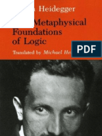 Heidegger the Metaphysical Foundations of Logic 26[1]