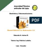 Manual Didáctico de Mathematica 5.2