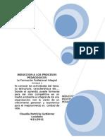 Unidad 1 La Formacion Profesional Intgral Taller1