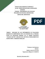 Trabajo de Investigacion Diplomada