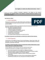 Fiche Pratique - Obligations Legales GRC E-mailing - Marketing et Tourisme