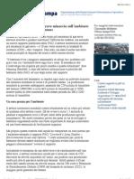 FAO La zootecnica pone una grave minaccia sull'ambiente