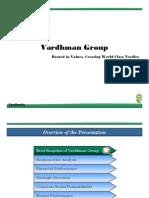 Vardhman Investor Presentation March10 4ad6f9b87ee