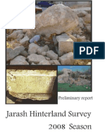 Jarash Hinterland Survey 2008 Report