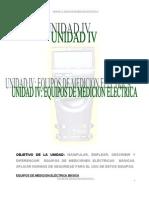 Unidad Iv_equipos de Medicion Electrica