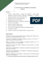Programa Fsica Termodinmica e Fsico-qumica 01