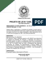 Projeto de Lei 5938