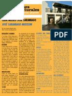 Casa Museo José Saramago - Rincón Cultural noviembre 2011