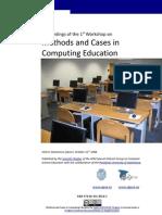 MCCE 2008 Proceedings