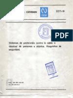 2271-91 Sistemas de Proteccion Colectiva