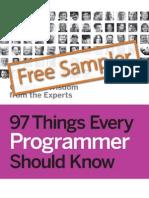 97 Things Every Programmer Sampler