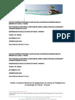 Análise econômico-financeira da implantação do sistema de biodigestores