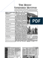 Spring 2006 Modoc Watershed Monitor Newsletter