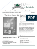 Winter 2004 Modoc Watershed Monitor Newsletter