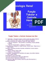 FUNÇÃO TUBULAR E CONTROLE HORMONAL -2011