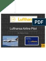 Lufthansa Airline Pilot Power Point