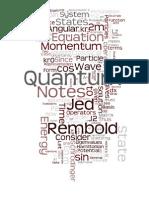 Quantum Mechanics Review