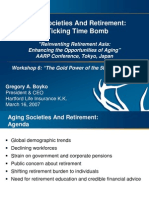 Aging Societies and Retirement