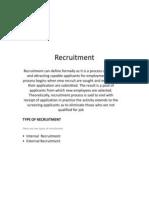 Recruitment Slide