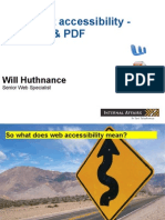 May 2011 Document Accessibility Presentation