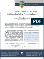 CIMIC Afghan Security Contractors Brief Oct 11