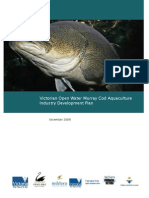 Murray Cod Industry Development Plan
