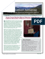 Winter 2010 Conservation Almanac Newsletter, Trinity County Resource Conservation District