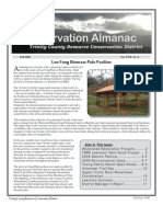 Fall 2008 Conservation Almanac Newsletter, Trinity County Resource Conservation District