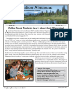 Spring 2007 Conservation Almanac Newsletter, Trinity County Resource Conservation District