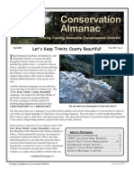 Fall 2005 Conservation Almanac Newsletter, Trinity County Resource Conservation District